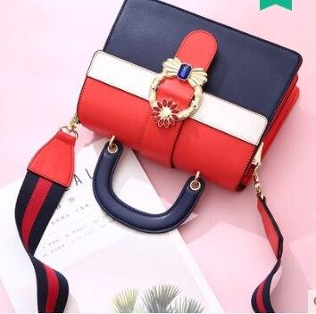 Princess sweet lolita bag Spring and summer color collision fashion shoulder bag Korean vision all match handbag women DLM030