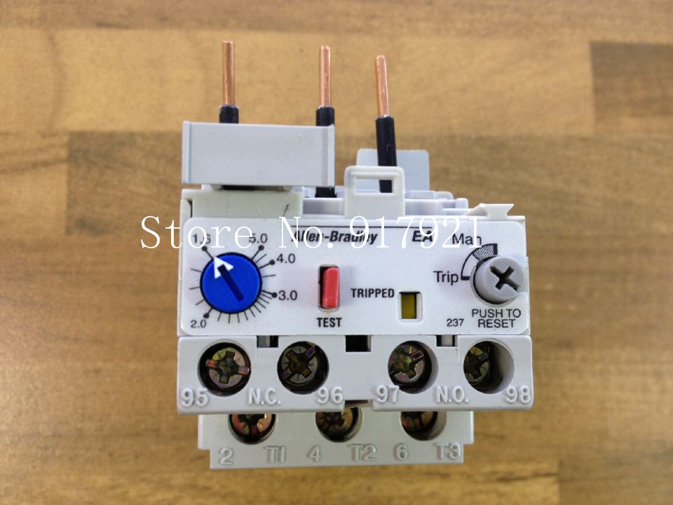 [ZOB] The United States Allen-Bradley Rockwell AB 193-EAIE A 1.6-5 thermal overload relay  --5pcs/lot chnt nr2 25 z 4a 6a thermal overload relay cjx2