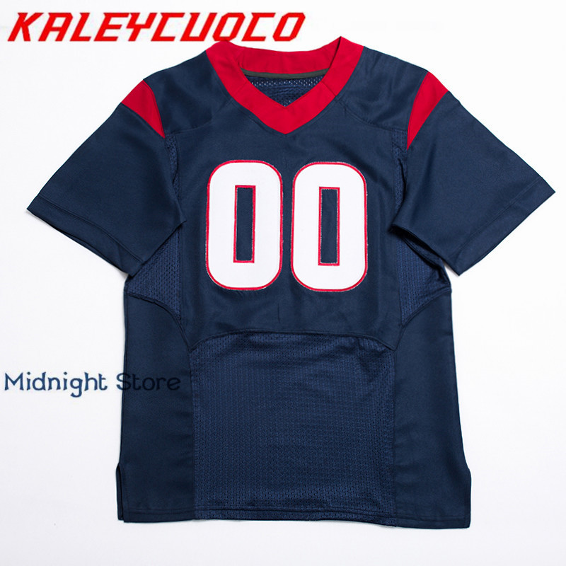 Custom Made Football Jerseys Men/Women/Youth Stitched Logos&Name&Number Jerseys Big&Tall Size Color Blue Red White цена