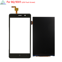 Original For BQ BQS 5022 LCD Display Touch Screen Digitizer Assembly Phone Parts for BQS 5022 Screen LCD Display Free Tools