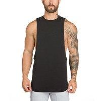 2017 New Mens Stringer Tank Top Bodybuilding Sleeveless Brand Casual Shirts 2016 Men Gymnasium Fitness Clothing