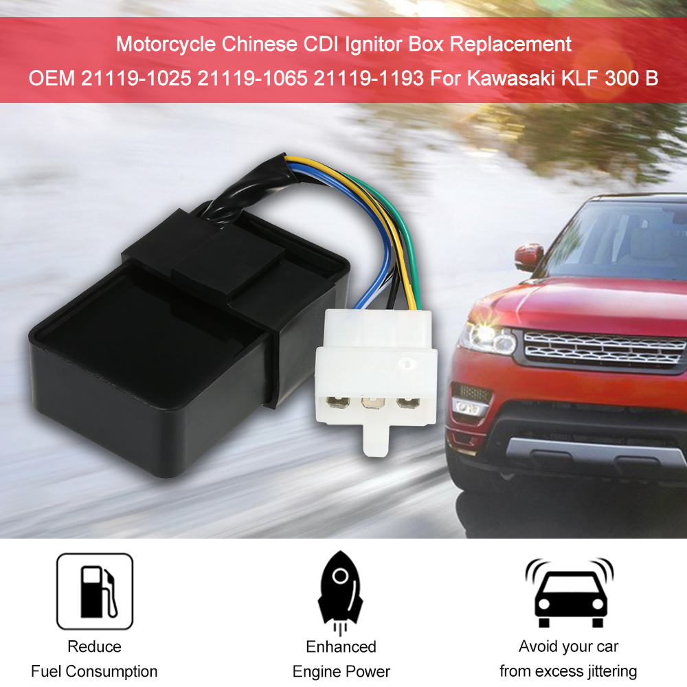US $15 2 48% OFF|21119 1065 CDI Box Module For Kawasaki Bayou 300 KLF300  21119 1193 Car Accessories-in Ignition Coil from Automobiles & Motorcycles  on
