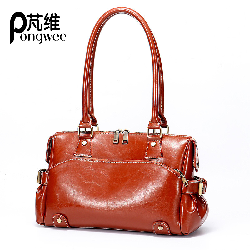 PONGWEE Womens 2018 New Women Messenger bag Casual Women Leather Handbags Ladies Classic Shoulder Bags Female Portable TotePONGWEE Womens 2018 New Women Messenger bag Casual Women Leather Handbags Ladies Classic Shoulder Bags Female Portable Tote