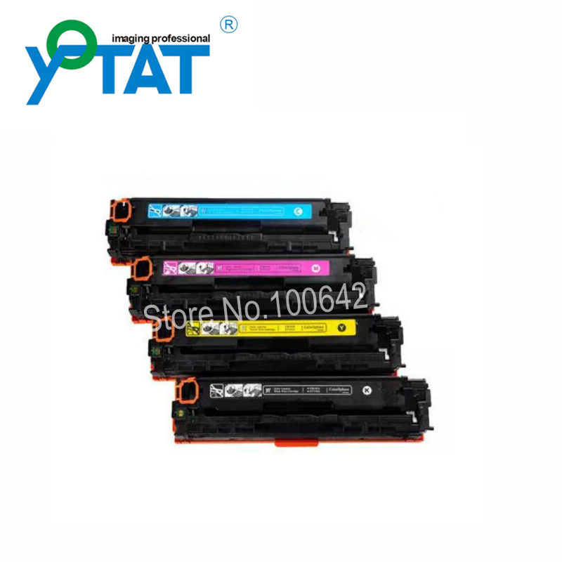 Compatible Toner Cartridge CE410A CE411A CE412A CE413A for HP Laserjet Pro 300 400 M375nw M451dw M451dn M451nw M475dn M475dw never watercolor collection sticky notes set memo pad set post it diary stickers kawaii stationery office and school supplies
