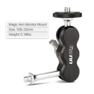 Image 2 - UURig R002 Aluminium Magic Arm Monitor Mount Articulating 1/4 Screw Universal for Field Monitors LED Video Lights Microphones