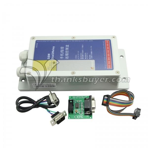 Siete Dispositivo de Salida de Relé Interruptor de Control Remoto Inalámbrico GSM (entrada De Alimentación DC12V)