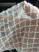 2016 beaded African lace Renda French Lace high quality For Wedding Party dress Embroidery mesh african cotton velvet 5y