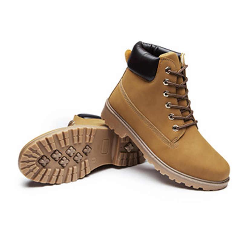 9f897cb6c ... Новинка 2019, осенне-зимняя обувь, женские зимние ботинки, теплые  плюшевые ботинки для ...