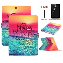 Fashion Cover Case For Samsung Galaxy Tab S2 Case 9.7 inch T815 T810 PU Leather Tablet Smart Cover For Samsung Galaxy Tab S2 9.7 цена и фото