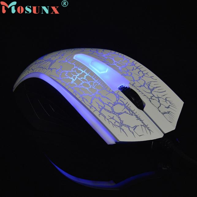 Mosunx Simplestone 2400 DPI USB Wired Optical Gaming Game Mice Mouse For PC Laptop 0120