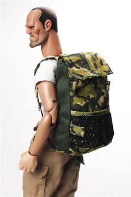 4 color 1/6 <font><b>scale</b></font> accessories model Camouflage backpacks model for 12