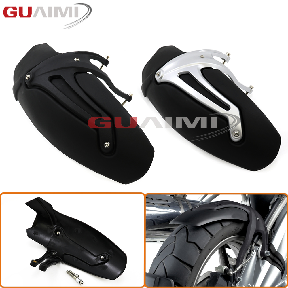 For BMW R1200GS 2008 2009 2010 2011 2012 R1200 GS Motorcycle Rear Fender Mudguard Wheel Hugger Splash Guard motorcycle accessories carbon fiber rear fender mudguards fender hugger for bmw s1000rr 2009 2017 2010 2011 2012 2013 2014 2015