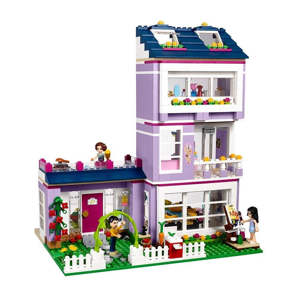 Compatible With Bela 10541 Friends Series Emmas House Building