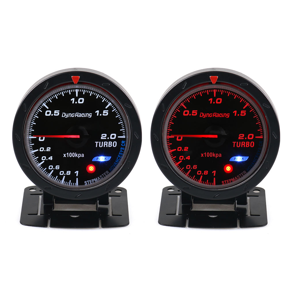 Dynoracing 60MM Volt meter Water temp Oil temp gauge Turbo Boost - Auto Replacement Parts - Photo 2