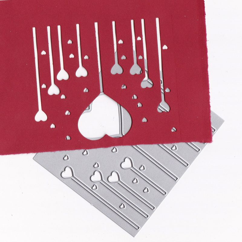 Love Magic Wand Metal Cutting Dies Stencil DIY Scrapbooking Album Stamp Paper Card Embossing Crafts Decor Cutting Dies 2019 For Card Making in Cutting Dies from Home Garden
