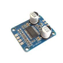 YDA138 DC12V 2A 2x15 Вт Bluetooth усилитель модуль цифровой аудио Плата класса D канальный усилитель мощности для Yamaha Прямая поставка