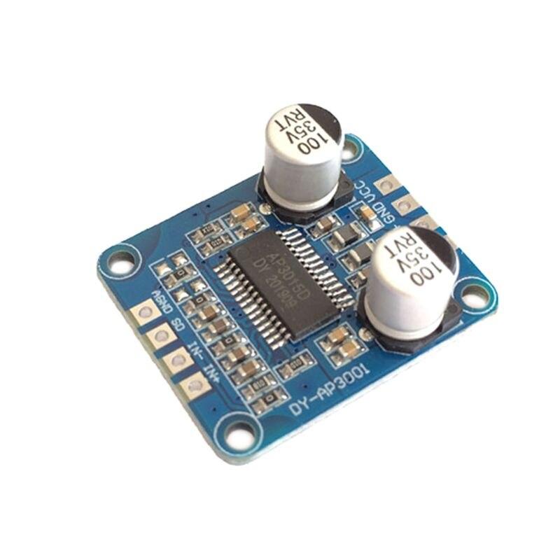 Ev Aletleri'ten Ultrasonik Temizleyici Parçaları'de YDA138 DC12V 2A 2x15W Bluetooth amplifikatör modülü dijital ses kartı D sınıfı kanal güç amplifikatörü Yamaha damla gemi title=