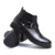 Nova Chegada da Alta Qualidade Da Moda Confortável Cour Genuíno Slip-On Primavera/Outono Ankle Boots Para Os Homens