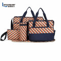 5pcs/set  High quality fashion  Mother Bag Designer Women diaper bag Multifunctional nappy bag for mommy baby storage mama bags