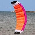 Nueva Alta Calidad 2 m de Nylon de Doble Línea Parafoil de Kite Con Barra de Control de Alimentación de Línea de Vela de la Trenza Arco Iris de Kitesurf Deportes playa