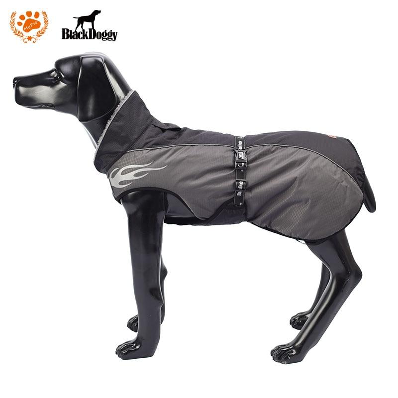 Christmas Plus Thickening Collar Dog Winter Coat Large Size Pet Dog Clothes Warm Dog Down Jacket