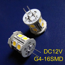 High quality DC12V 5050 G4 led Crystal lights G4 Led decorative light 12Vdc G4 led bulb GU4 LED lights free shipping 50pcs/lot