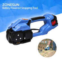 ZONESUN new ort200 Battery Powered Strapping Tool Electric Plastic Strapping Tool