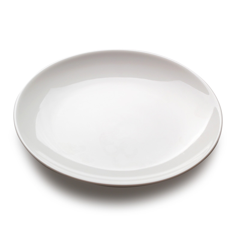 White Kitchen Plates