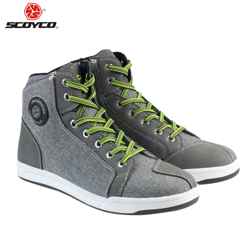 Casual Motorcycle Boots Stivali Botas Moto Motosiklet Bot Mens Biker Shoes Motociclista Bottes Racing S93610 City Moto Shoes scoyco camo motorcycle biker boots stivali botas moto motosiklet bot mens shoes motociclista bottes casual city moto shoes