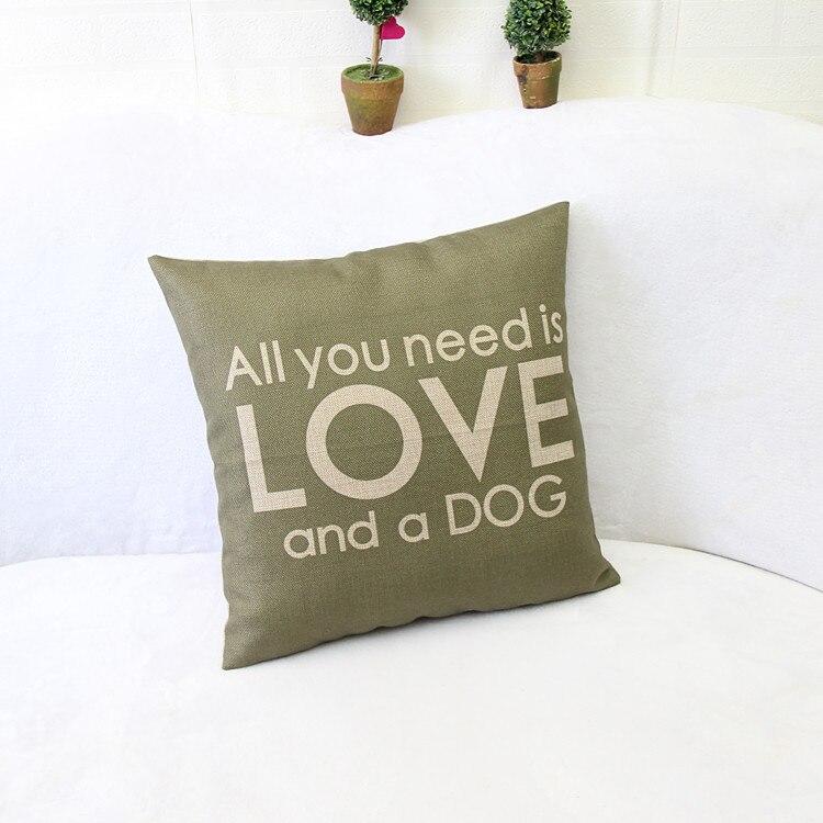 45×45 سنتيمتر جميع تحتاجه هو الحب النسيج القطني وسادة القضية خمر وسادة غطاء لا تشمل داخل حشو
