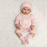 NPK 22 Inch 55 cm Soft Silicone Newborn Baby Reborn Doll Babies Dolls Lifelike Real Bebe Doll for Children Birthday Xmas Gift