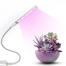 Plant grow light Full Spectrum USB 3w LED Grow Light red blue led Fitolampy Lights For Greenhouse Hydroponic Plant IR UV Garden(China)