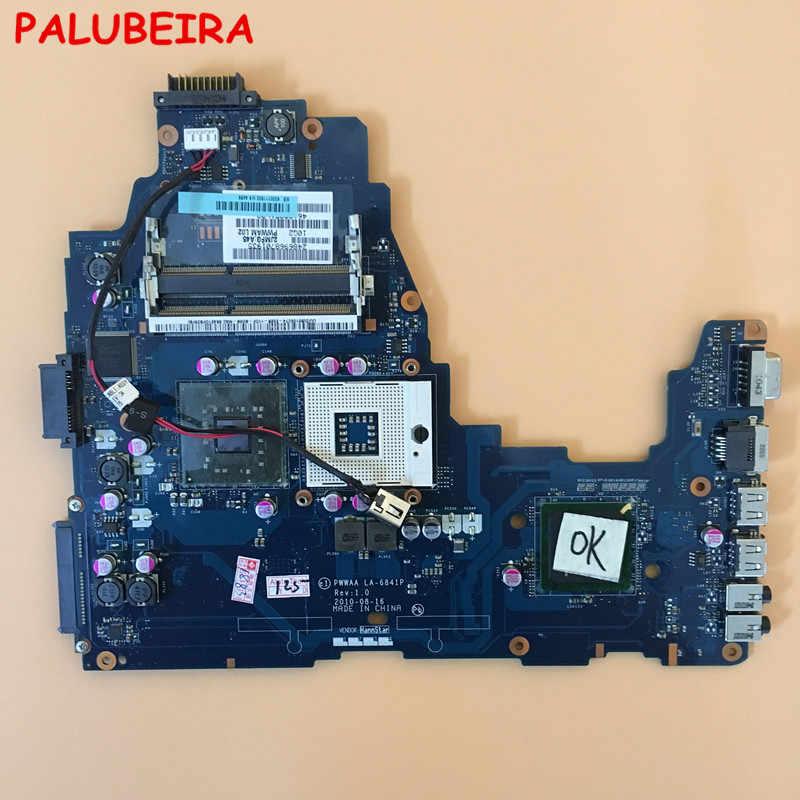 PALUBEIRA באיכות גבוהה עבור Toshiba לווין C660 מחשב נייד האם K000111590 PWWAA LA-6841P DDR3