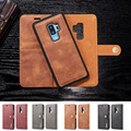 For Samsung Galaxy S9 Plus Case Luxury 360 Protective Flip Book Case Samsung Galaxy S9 Cover Leather Wallet Magnetic Phone Bag