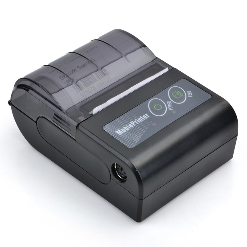 Free SDK 58mm Handheld Pos Thermal Printer Android IOS Bluetooth 4.0 Receipt Printer Mini Mobile Protable Thermal Printer radall 58mm bluetooth thermal receipt printer portable mini bluetooth printer for android and ios mobile pos printer rd 1805dd