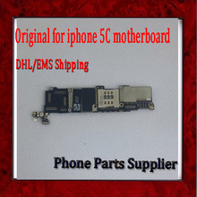 1Pcs 100% Completely Original Unlocked 16G Mainboard For Apple iphone 5C Motherboard with Chips,Good Working by DHL/EMS Shipping