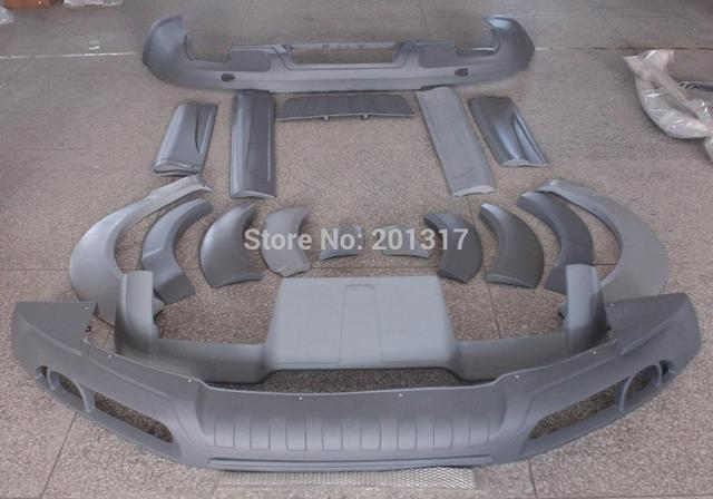 Unpainted PU Material 08-09 A Style Q7 Car Body Kits for  AU DI fit for Standard Q7 Bumper