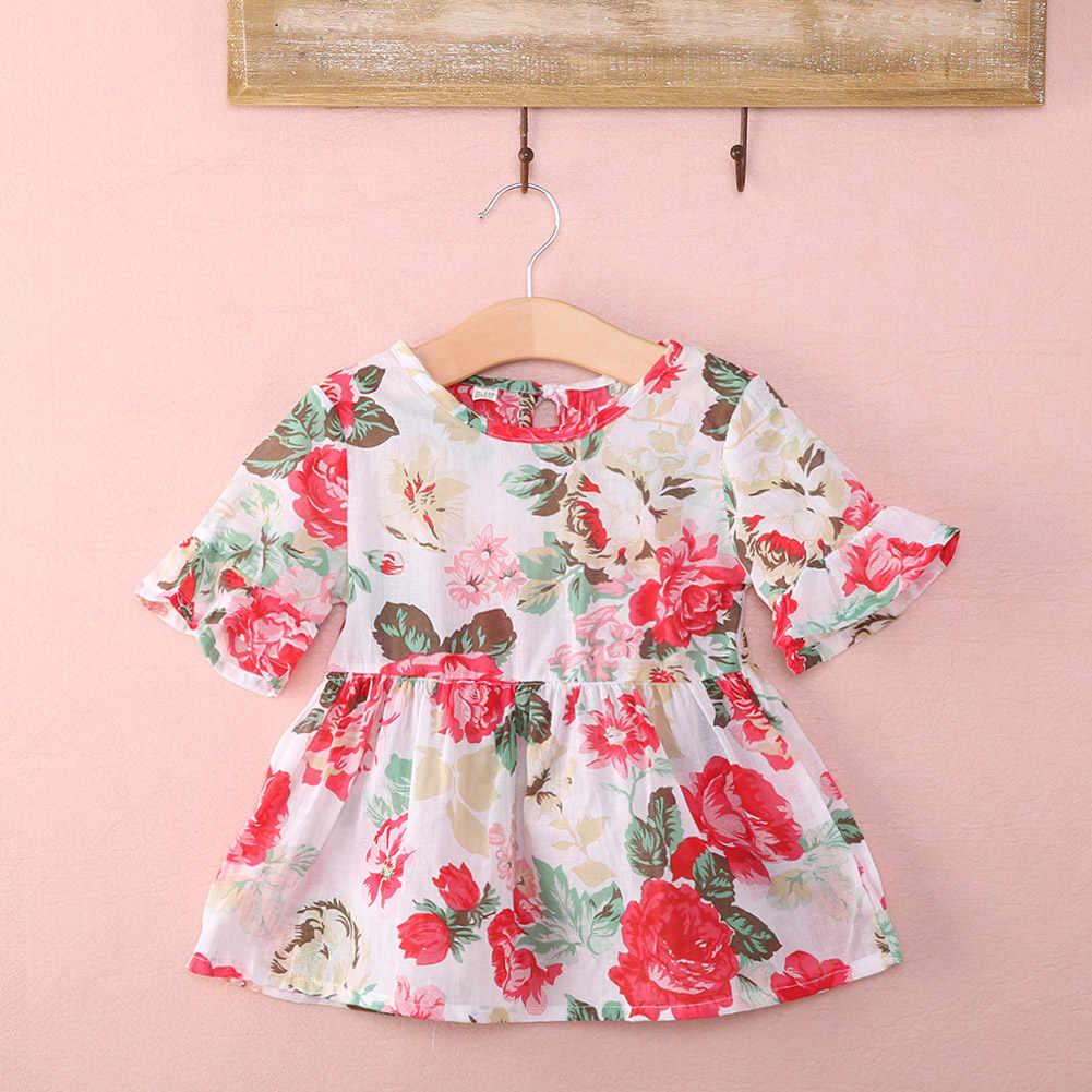 น่ารักเด็กวัยหัดเดินเด็กทารกเด็กหญิงฤดูร้อนเสื้อผ้าเสื้อยืดเสื้อชุดแฟชั่นเด็กลำลองเด็ก Tees