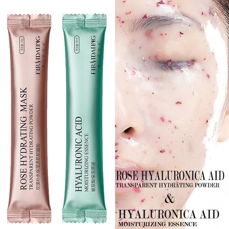 DIY SPA Collagen Rose Hyaluronic Acid Soft Mask Powder Face Mask Anti Aging Wrinkle