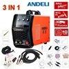 Functional 3 IN 1 Welding Machine Digital Display TIG MMA CUT AC 220V Plasma Cutter Cutting
