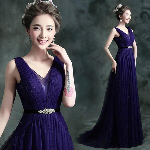 Deep Purple Evening Gowns_Evening Dresses_dressesss