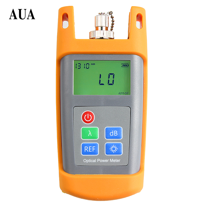 AUA-7010 Fiber Optical Multimeter -70~+10dBm Handheld Fiber Optical Power Meter with FC SC Connector
