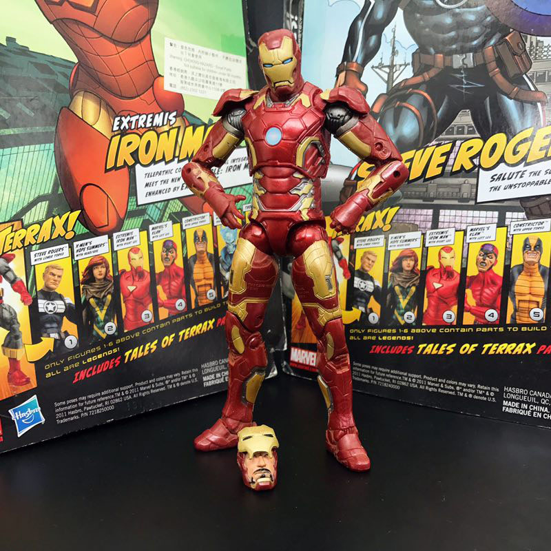 "MARVEL Hasbro Classic IRON MAN Figure 3.75/"" NEW Loose Avengers"