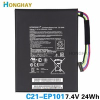 New Taplet Battery For ASUS Eee Pad Transformer TF101 TR101 C21 EP101 7 4v 3300mah 24wh