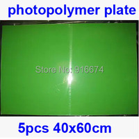 Fast Free Shipping HOT 5pcs 40cmx60cm Photopolymer Plate Stamp Making DIY Letterpress Polymer Stamp Maker Systerm
