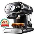 20 бар кофе машина эспрессо чашки полуавтоматическая бытовой визуализации молочной пены двойной контроль температуры