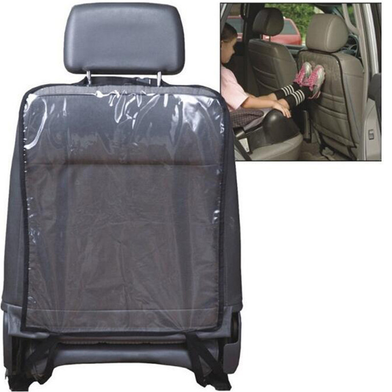 New 1PC Car Auto Seat Back Protector Cover For Kids Children Kick Mat Mud Cleaner Car Accessories Seat Covers car-styling