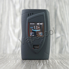 Smok devilkin 225 w tc shilled silicone caso capa de pele manga gabinete adesivo envoltório para vape smoktech devilkin 225 w kit caixa mod