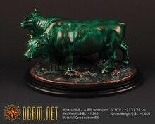 OGRM Resin Crafts Fallout Brahmin Resin Statue Figure Brahma Sculpture Art Craft