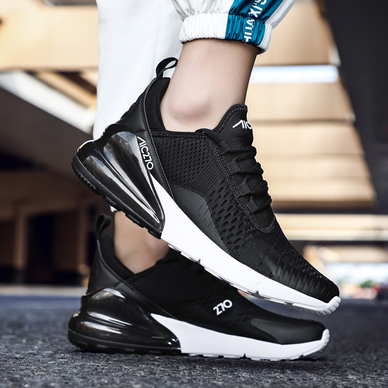 New Sport Shoes for Men Big Size 47 Running Shoes Air Cushion Men Sneakers Zapatillas Hombre 270 Couple Jogging Training Shoes in Running Shoes from Sports Entertainment